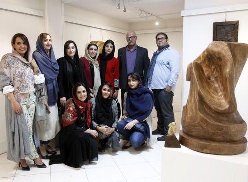نمایشگاه+مجسمه+های+جمشید+مرادیان+و+شاگردانش+در+فرهنگسرای+ابن+سینا