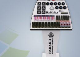 استند Baraka - استند ایستاده - نمونه استند - ساخت استند - طراحی استند - سفارش استند - نمونه کار استند - نوین تندیس
