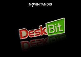بج سینه DeskBit - نمونه بج سینه - ساخت بج - سفارش بج - بج سینه - نوین تندیس