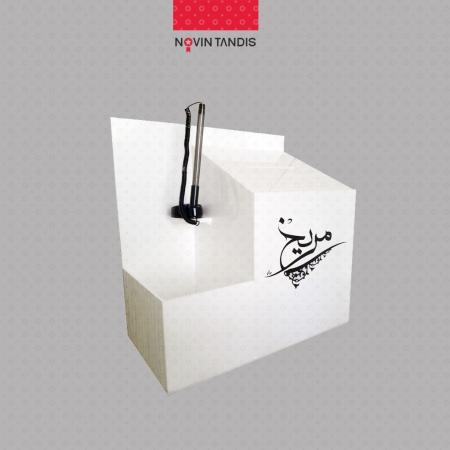 صندوق پیشنهادات دیواری با جا کاغذی - صندوق پیشنهادات آماده - خرید صندوق پیشنهادات آماده - فروش صندوق دیواری آماده - فروشگاه آنلاین نوین تندیس