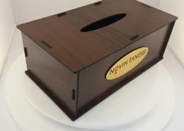 جعبه دستمال کاغذی چوبی